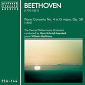 Beethoven: Piano Concerto No. 4 in G Major, Op. 58 by Vienna Philharmonic Orchestra