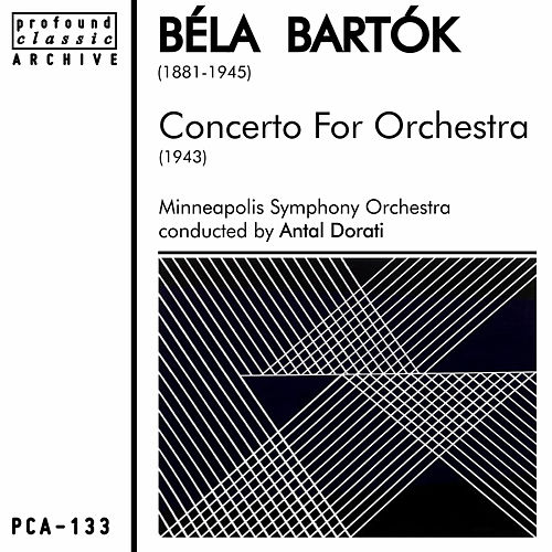 Play & Download Concerto for Orchestra by Minneapolis Symphony Orchestra | Napster