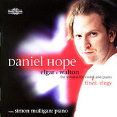 Elgar, Finzi & Walton: Sonatas for Violin & Piano by Simon Mulligan