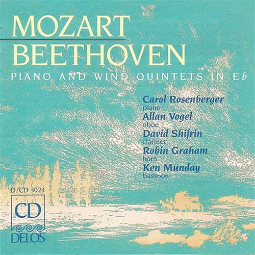Play & Download BEETHOVEN, L.: Piano Quintet in E flat major / MOZART, W.A.: Piano Quintet in E flat major by Allan Vogel | Napster