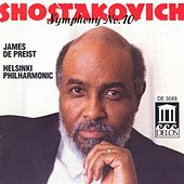 Play & Download SHOSTAKOVICH, D.: Symphony No. 10 / Festive Overture (Helsinki Philharmonic Orchestra, DePreist) by James DePreist | Napster