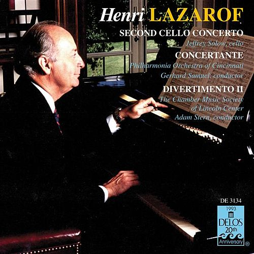 Play & Download LAZAROF, H.: Cello Concerto No. 2 / Concertante for 2 Horns and 16 Strings / Divertimento II by Various Artists | Napster