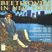 Play & Download BEETHOVEN, L.: Septet in E flat major / Serenade in D major (Beethoven in New York) (Lincoln Center Chamber Music Society) by Various Artists | Napster