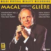 GLIERE, R.: Symphony No. 2 / The Red Poppy Suite (New Jersey Symphony Orchestra, Macal) by Zdenek Macal