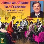 Vocal Recital: Aler, John - MARSHALL, C. / FIRESTONE, I. / RASBACH, O. / SANDERSON, W. / PURCELL, E. / CHARLES, W. / SULLIVAN, A. by Grant Gershon