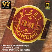 Play & Download SHCHEDRIN, R.: Carmen Suite / BIZET, G.: Carmen Suite No. 1 (Monte-Carlo Philharmonic Orchestra, DePreist) by James DePreist | Napster