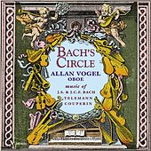Chamber Music - TELEMANN, G. / BACH, J.S. / COUPERIN, F. / BACH, J.C.F. (Bach's Circle) by Allan Vogel