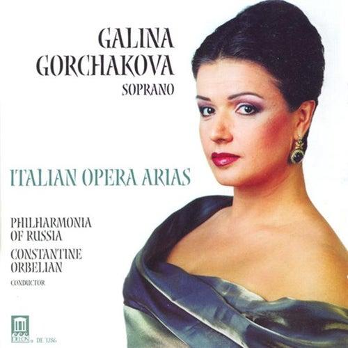 Play & Download GORCHAKOVA, Galina: Italian Opera Arias - MASCAGNI, P. / PUCCINI, G. / LEONCAVALLO, R. / CATALANI, A. / CILEA, F. / VERDI, G. by Galina Gorchakova | Napster