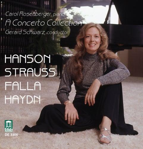 HAYDN, F.J.: Piano Concertos in D major / G major / STRAUSS, R.: Burleske in D minor (Carol's Concerto Collection) (Rosenberger) by Carol Rosenberger