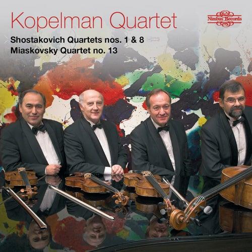 Shostakovich & Miaskovsky: String Quartets by Kopelman Quartet
