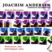 Joachim Andersen: Complete works for flute vol 6 by Thomas Jensen