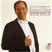 Piano Works of Strauss & Elgar by David Golub