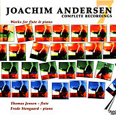 Joachim Andersen: Complete works for flute vol 7 by Thomas Jensen