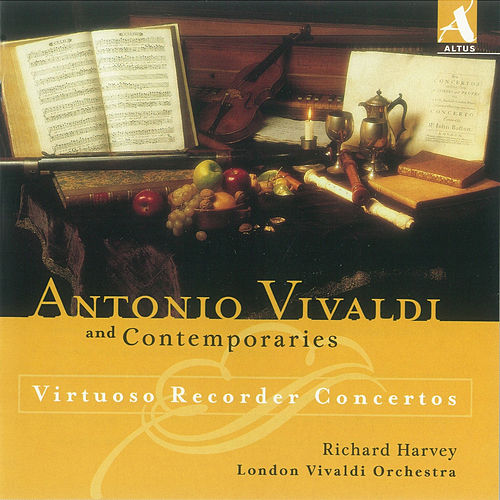 Play & Download Virtuoso Recorder Concertos by Richard Harvey | Napster