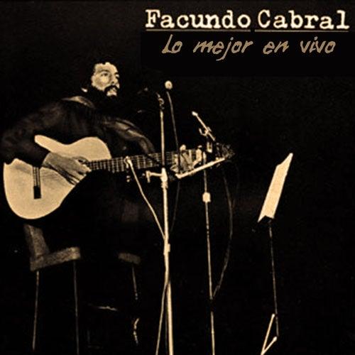 Lo Mejor en Vivo by Facundo Cabral