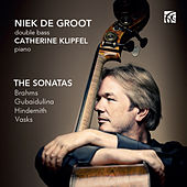 Play & Download Brahms, Gubaidulina, Hindemith & Vasks: Sonatas for Double Bass by Catherine Klipfel | Napster