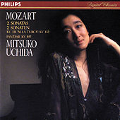 Mozart: Piano Sonatas Nos. 11 & 12/Fantasia in D minor by Mitsuko Uchida