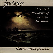 Play & Download Schubert / Rachmaninof / Scriabin / Gershwin: Fantasies per a Piano Duet by Maria | Napster