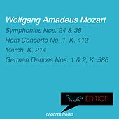 Blue Edition - Mozart: Symphonies Nos. 24, 38 & Horn Concerto No. 1, K. 412 by Various Artists