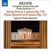 Play & Download REGER, M: String Trios and Piano Quartets (Complete), Vol. 1 (Aperto Piano Quartet) - String Trio, Op. 77b / Piano Quartet, Op. 113 by Various Artists | Napster