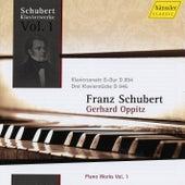 Schubert: Piano Sonata in G Major & Three Piano Pieces by Gerhard Oppitz