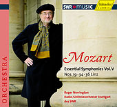 Mozart: Symphony Nos. 19, 34 & 36 by Radio-Sinfonieorchester Stuttgart des SWR