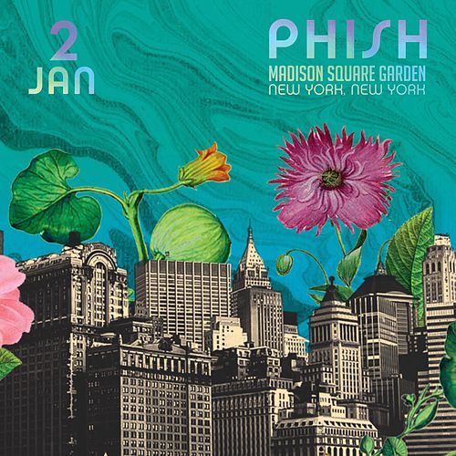 Phish: 1/2/2016 Madison Square Garden, New York, NY by Phish