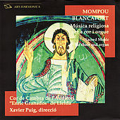Sacred Music for Choir and Organ by Cor de Cambra de l'Auditori Enrci Granados de Lleida