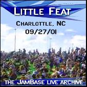 Play & Download 9-27-01 - Charlotte, NC by Little Feat | Napster