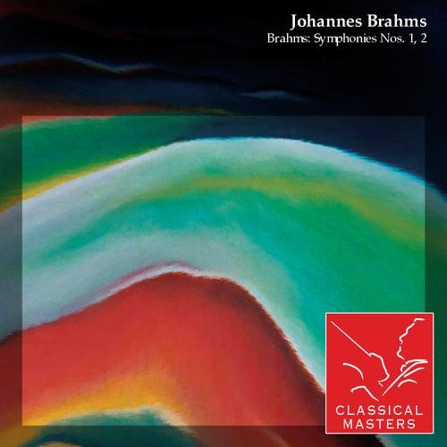 Brahms: Symphonies Nos. 1, 2 by Various Artists
