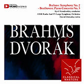 Play & Download Brahms: Violin Concerto - Dvorák: Violin Concerto by David Oistrakh | Napster