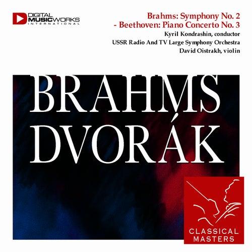 Play & Download Brahms: Violin Concerto - Dvorák: Violin Concerto by David Oistrakh | Napster