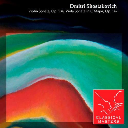 Violin Sonata, Op. 134, Viola Sonata in C Major, Op. 147 by Oleg Kagan