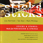Play & Download Sticks and Stones: Music for Percussion & Strings by Various Artists | Napster