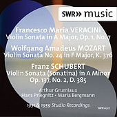 Play & Download Veracini, Mozart & Schubert: Violin Sonatas by Arthur Grumiaux | Napster