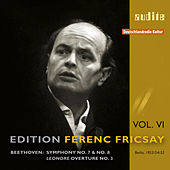 Ludwig van Beethoven: Symphonies No. 7 & No. 8, Leonore Ouverture No. 3 by Deutsches Symphonie-Orchester Berlin Ferenc Fricsay