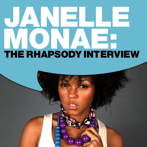 Play & Download Janelle Monae: The Rhapsody Interview by Janelle Monae | Napster