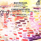 Play & Download Jean Francaix & Camille Saint-Saens by Ian Hobson | Napster