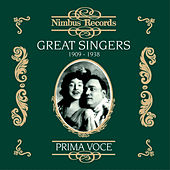 Great Singers, Vol. 1 (Recorded 1909-1938) by Various Artists