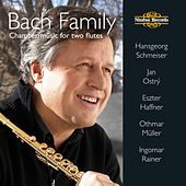 Bach Family: Chamber Music for Two Flutes by Eszter Haffner