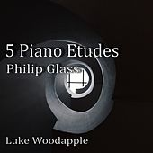 Philip Glass: 5 Piano Etudes (From the Book: The Complete Piano Etudes) von Luke Woodapple