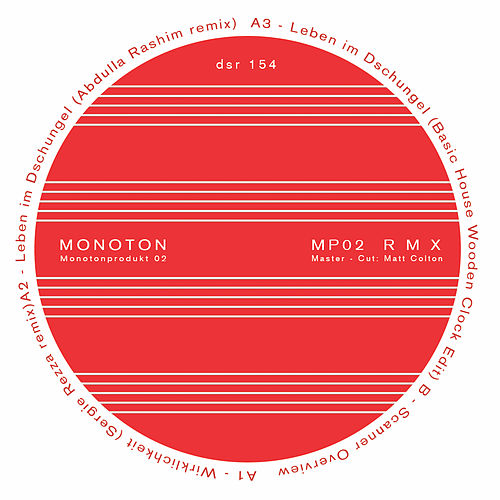 Play & Download Mp02 R M X - Ep by Monoton | Napster
