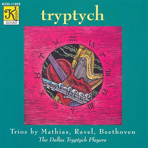 Play & Download MATHIAS: Zodiac Trio / RAVEL: Sonatine (arr. for flute, harp and viola) / BEETHOVEN: Serenade by Dallas Tryptych Players | Napster