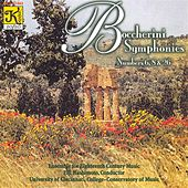 BOCCHERINI: Symphonies in D minor / A major / C minor by Eiji Hashimoto