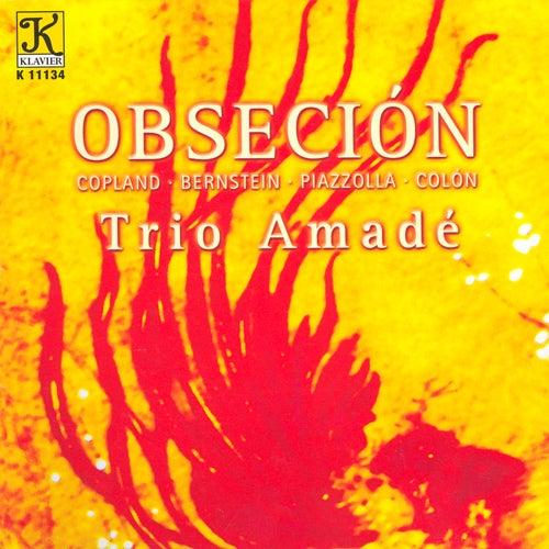 COPLAND: Vitebsk / BERNSTEIN: Piano Trio / PIAZZOLLA: Las Cuatros Estaciones Portenas / COLLON: N by Trio Amade