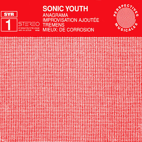 Anagrama by Sonic Youth