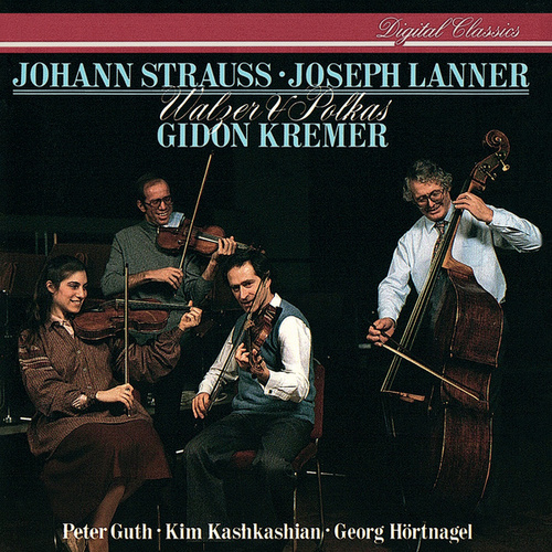 Play & Download Johann Strauss II & Lanner: Waltzes & Polkas by Gidon Kremer | Napster