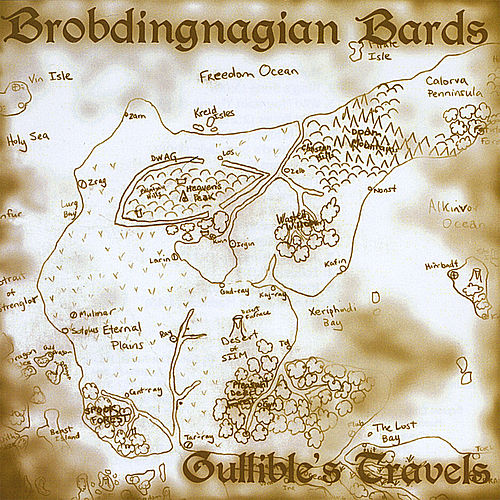 Play & Download Gullible's Travels by Brobdingnagian Bards | Napster