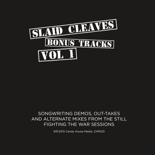 Play & Download Bonus Tracks Vol. 1 by Slaid Cleaves | Napster