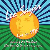 Live in 1975 by Leo Sayer